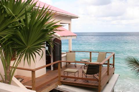 sun deck on the ocean in apple bay tortola bvi