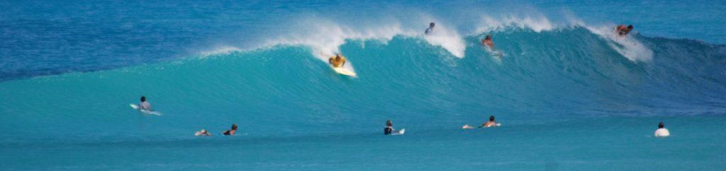 Ground Swells at Apple Bay Tortola